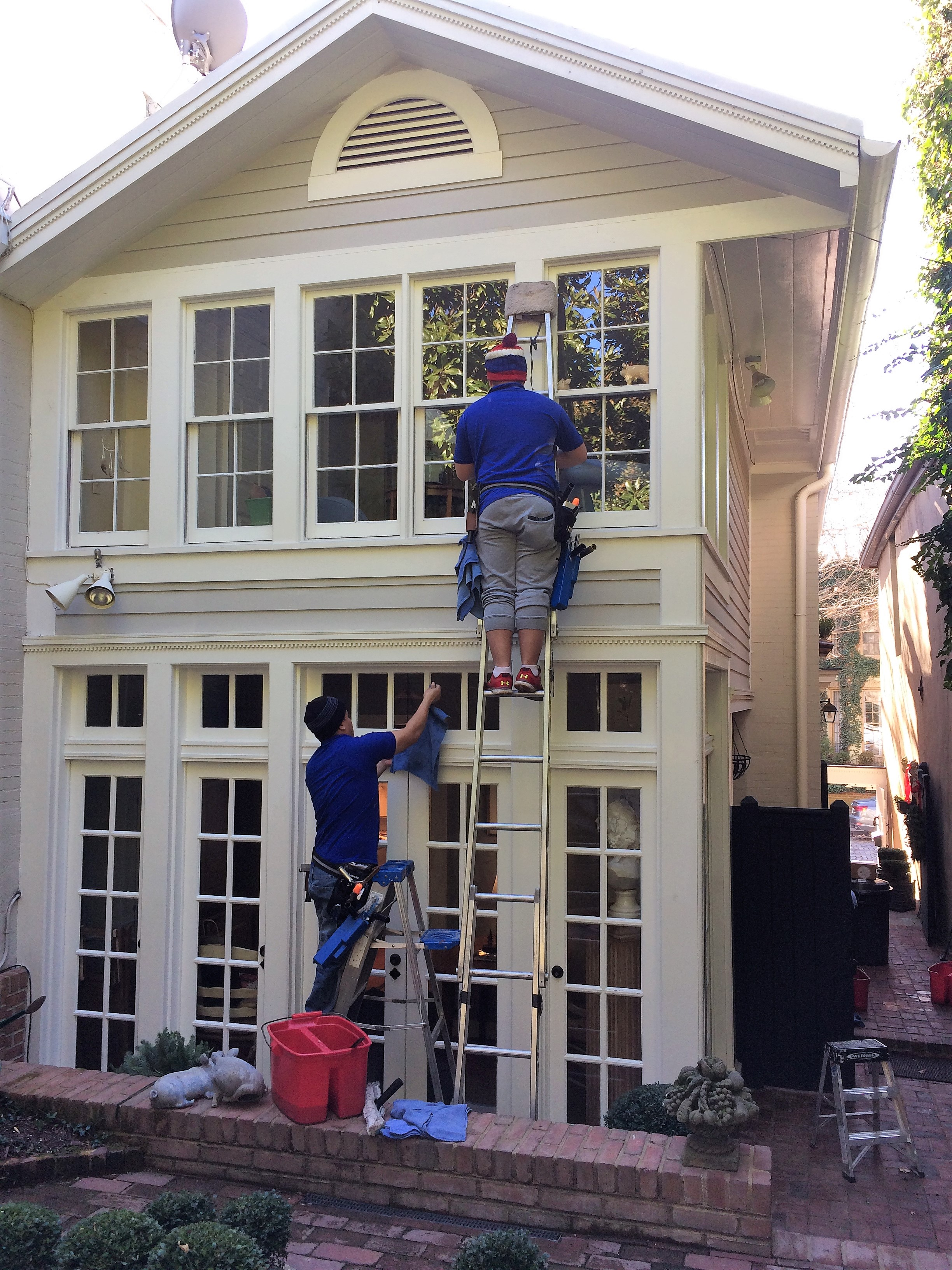 Exterior Window Cleaning Service Breezall
